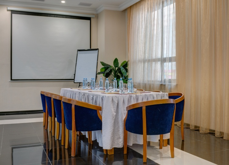 Hold a banquet, corporate party, anniversary, presentation, training or master class in the conference halls of King Hotel Astana!